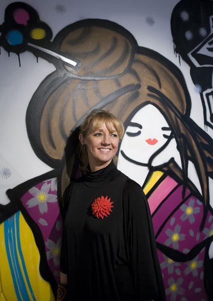 Ewa Kumlin kunnig om design från Japan