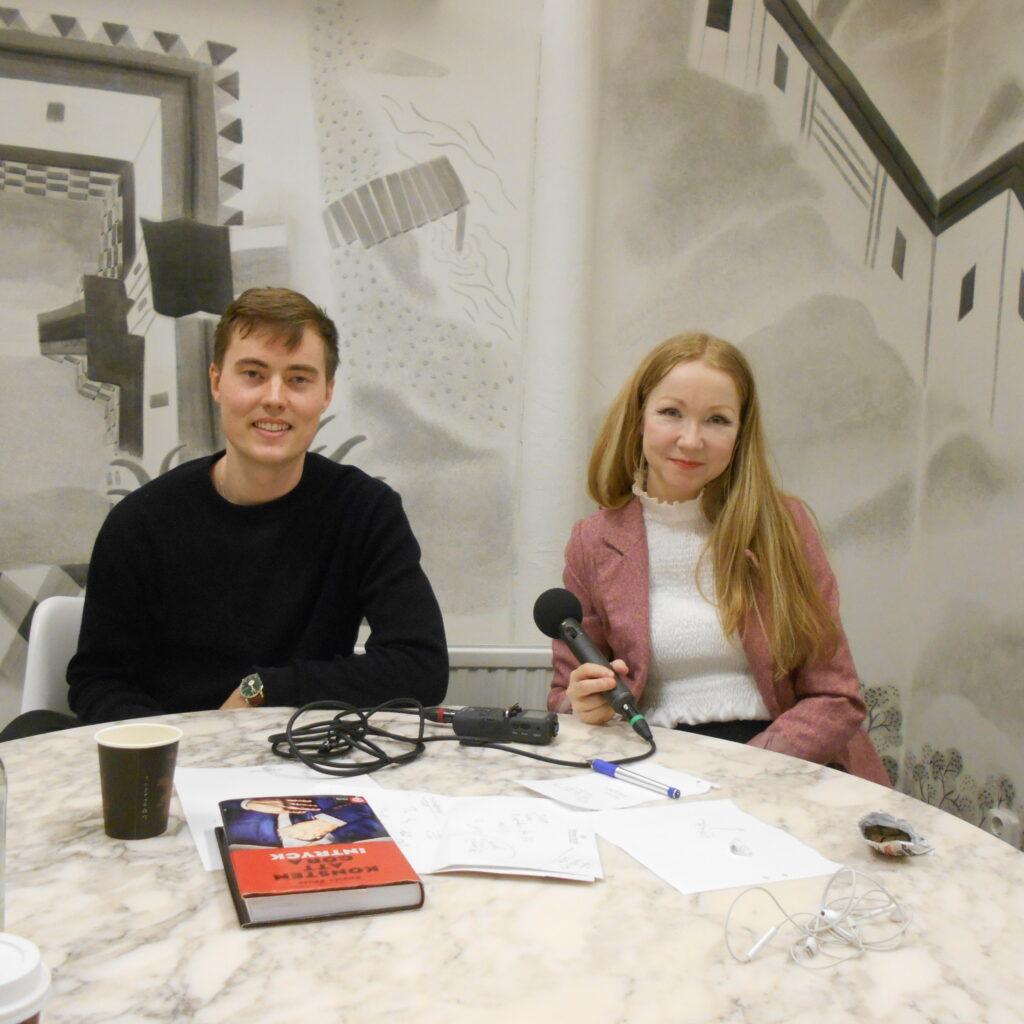 Julius Nord och Angela Ahola